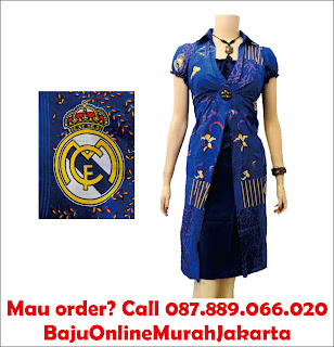Dress Batik Bola Solo