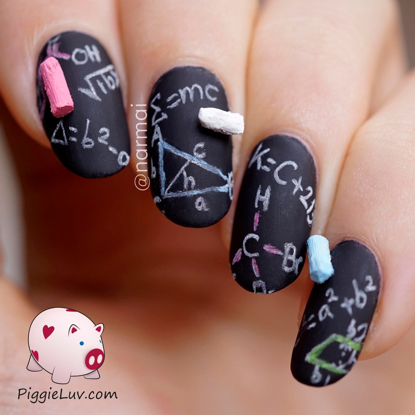 Nail art board image collections nail art and nail design ideas piggieluv 3d chalkboard nail art 3d chalkboard nail art prinsesfo image collections prinsesfo Choice Image