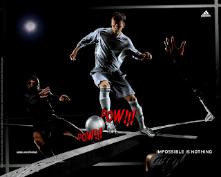 David Beckham Adidas Football Impossible is nothing Ads HD Wallpaper