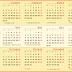 Kalender Tahun 2012 Indonesia