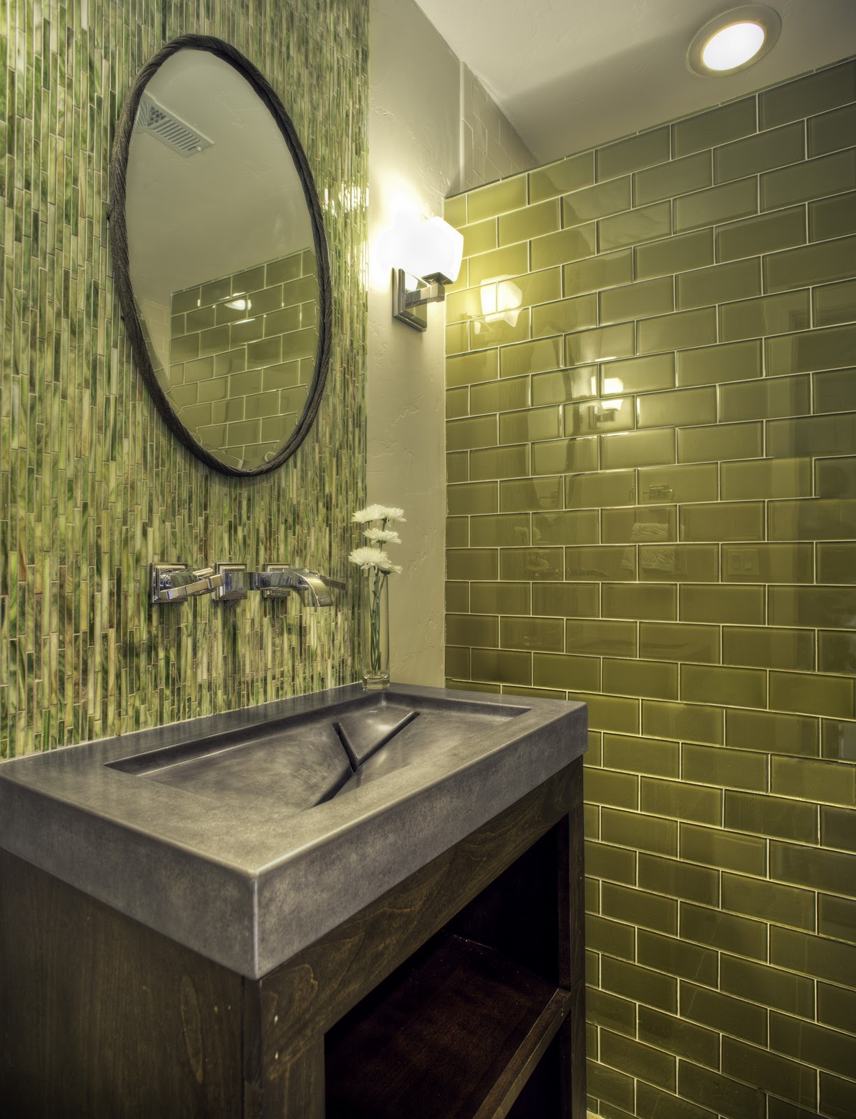 Home renovation 2015 2015 home design ideas for Olive bathroom ideas