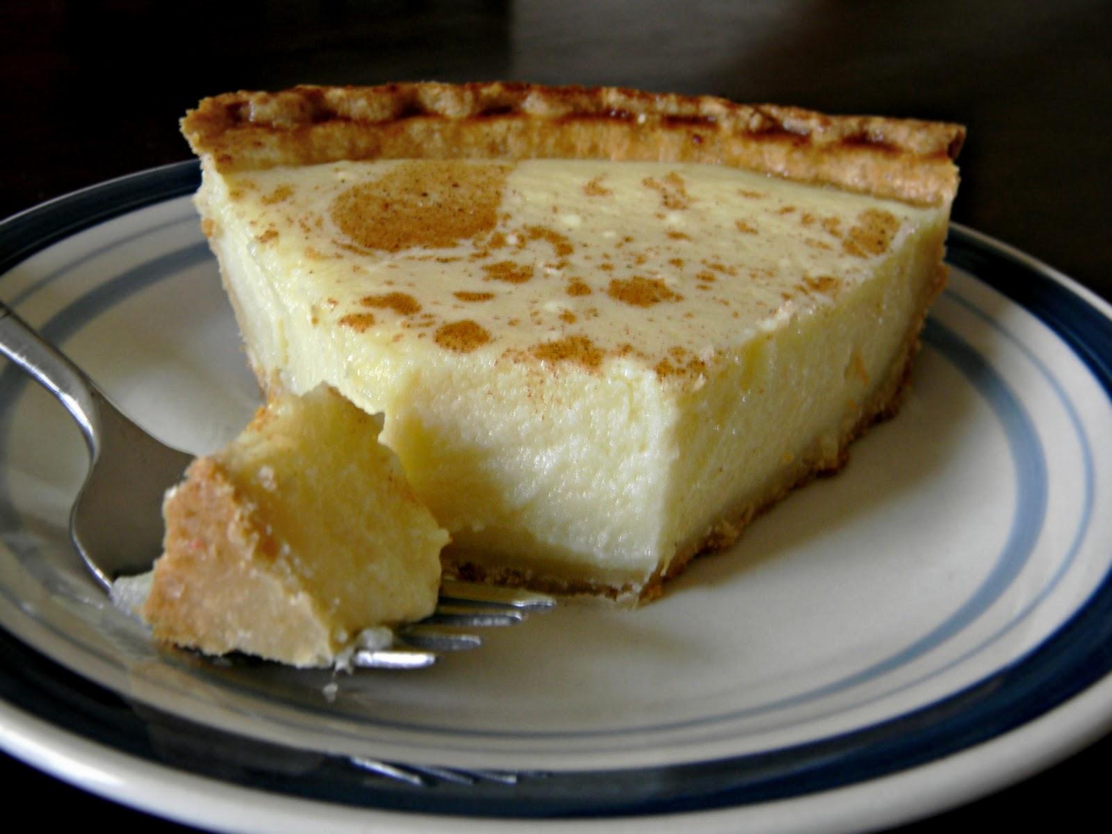 Cottage Cheese Pie AKA Surprise Pie