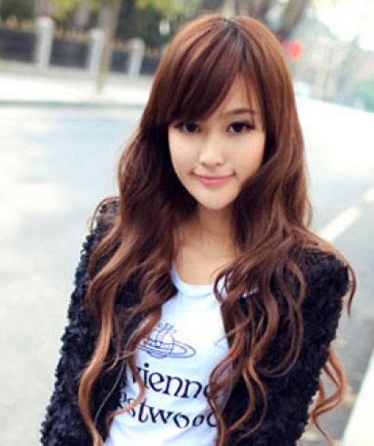 cute awesome gaya rambut cewek korea terpopuler patut