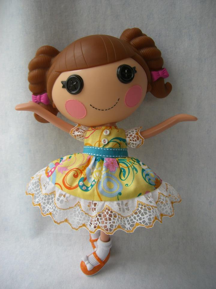 pink string lovely lalaloopsy clothes by and