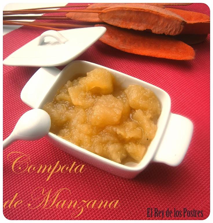 Compota de Manzana, receta sencilla.