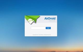 Airdroid 2 Mengelola Dan Mengontrol Ponsel Android melalui Wi Fi Dari Browser PC