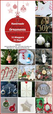 31 Days of Handmade Ornaments