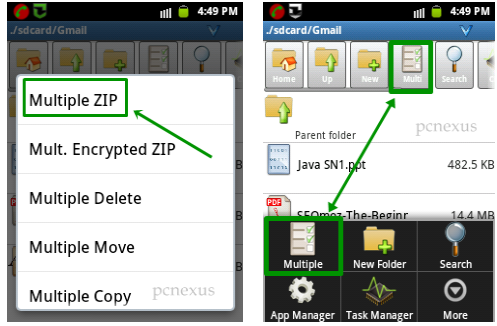 attach any file in gmail for android