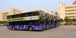 Ayo Naik Bus Tingkat wisata gratis keliling Ibukota
