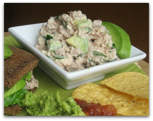 fiesta mexican tuna salad with cilantro avocado and jalapeno