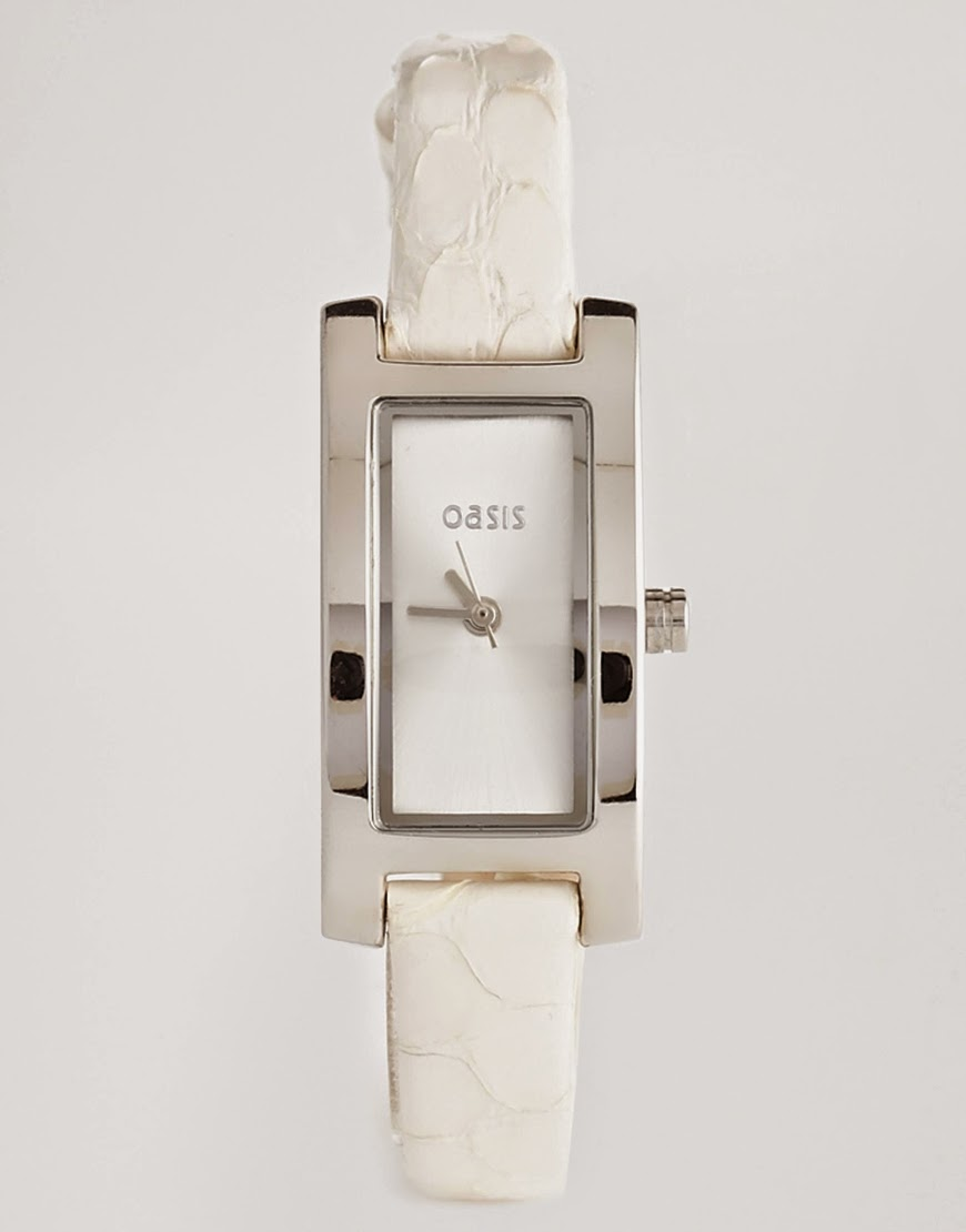 Authentic White Leather watch by Oasis (pre-order) SALE!