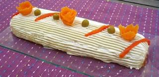 Flores con Zanahoria, Ideas para Presentar Ensaladas