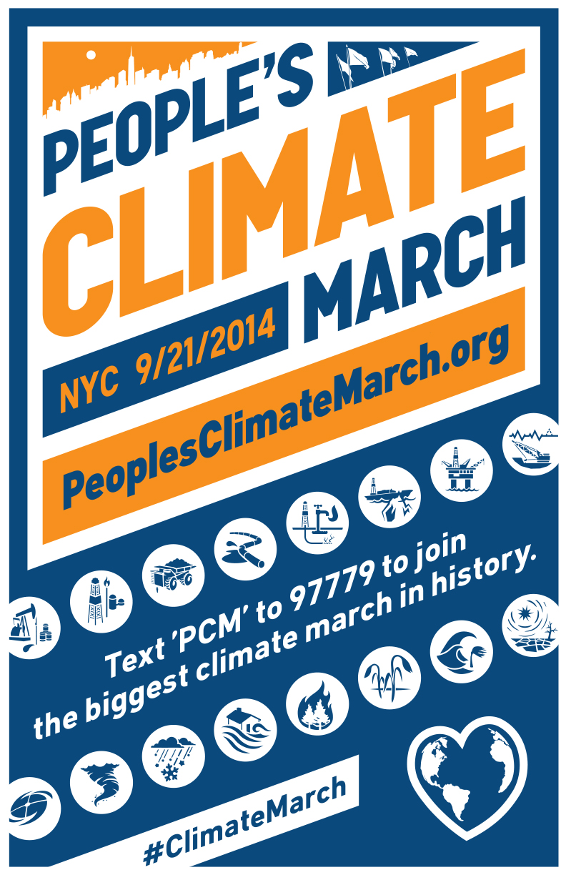 People's Climate March Logo (Credit: peoplesclimate.org) Click to enlarge.