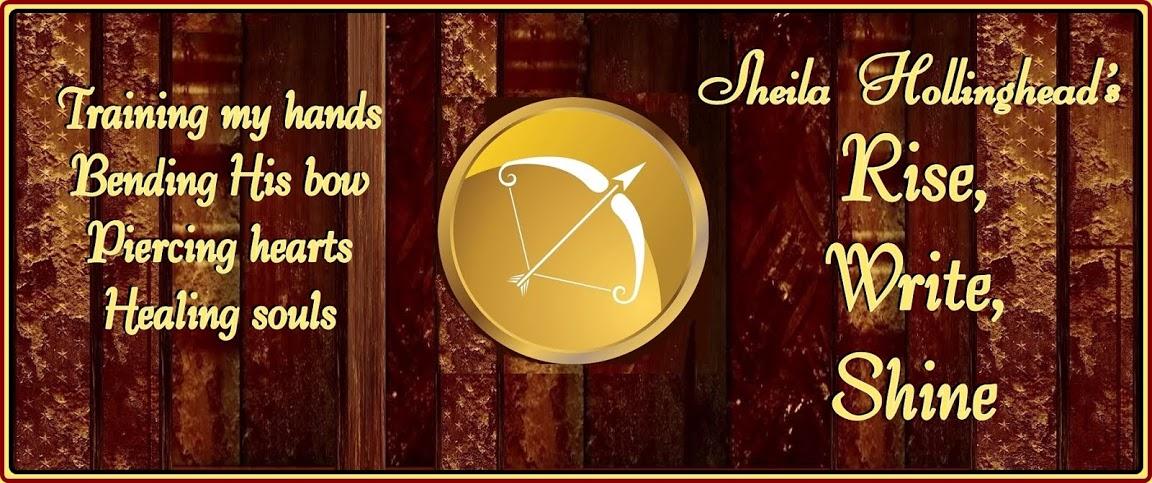 Sheila Hollinghead's Rise, Write, Shine!
