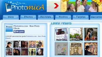 Edita y agrega efectos a tus fotos gratis con Photomica