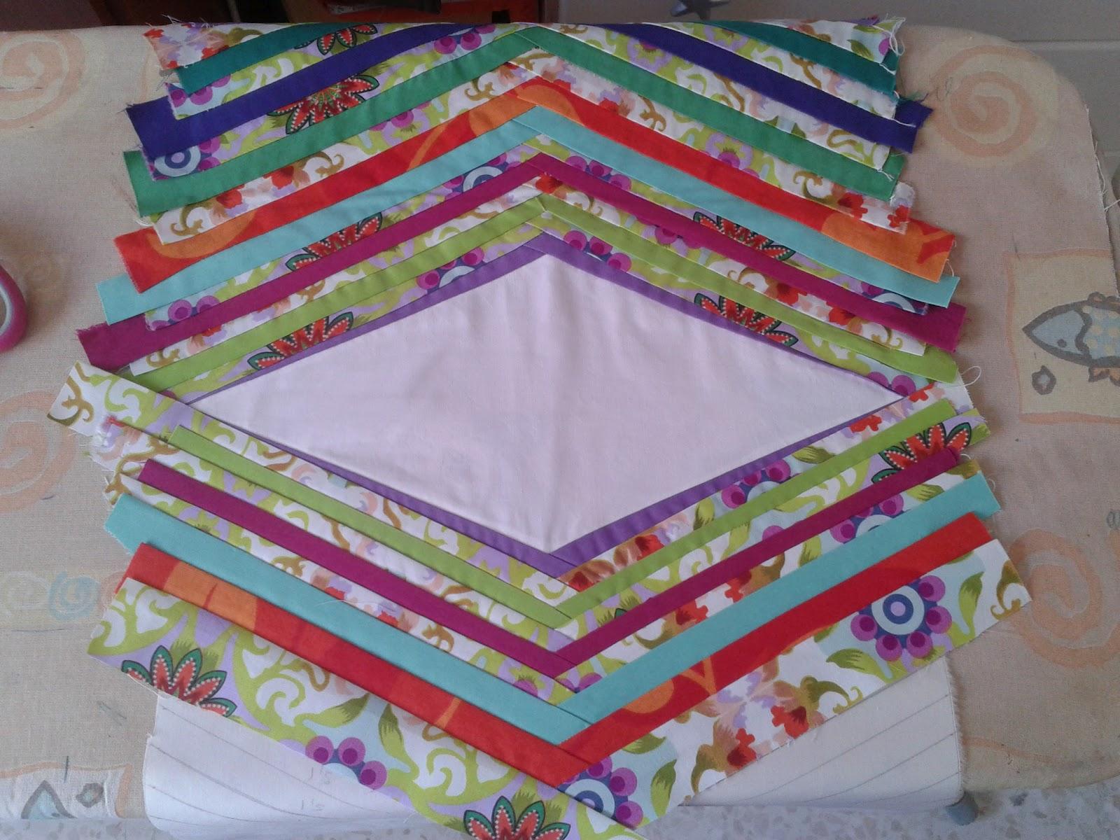 Macu divina mis tesoros camino de mesa patchwork - Camino mesa patchwork ...