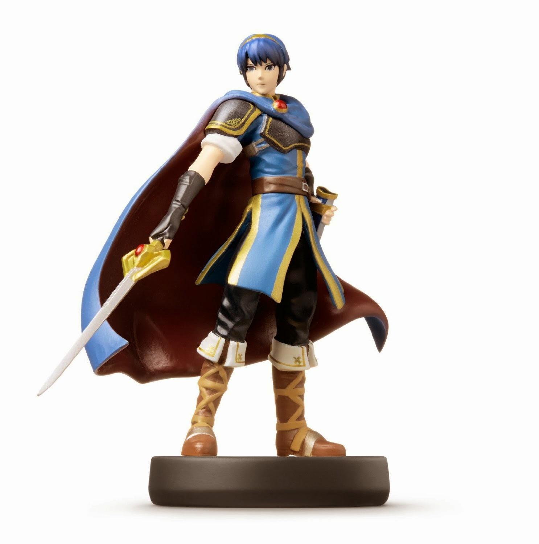 JUGUETES - NINTENDO Amiibo - 12 : Figura Marth (Fire Emblem)   (28 noviembre 2014) | Videojuegos | Muñeco | Super Smash Bros Collection  Plataforma : Wii U