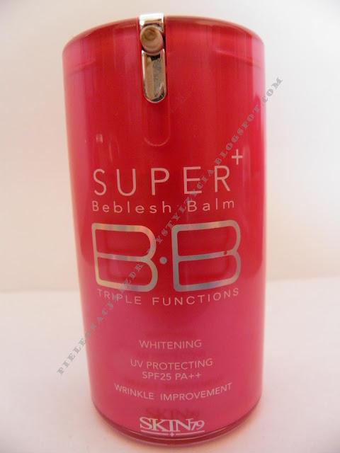SKIN79 HOT PINK COLLECTION SUPER PLUS BB CREAM SPF25