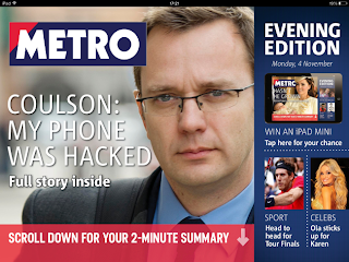 Metro Evening Tablet Edition