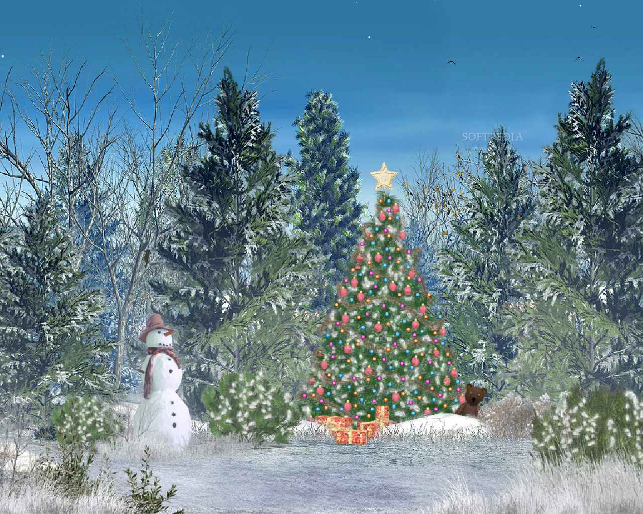 Free Animated Christmas Wallpapers And Screensavers hd photo