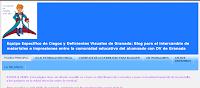 """La imagen ofrece la página principal del blog con la frase """"lo esencial es invisible a los ojos""""."""