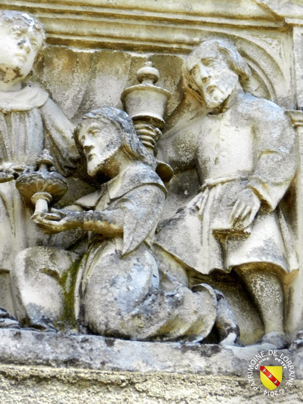 BALLEVILLE (88) - Retable (XVIe siècle) - Adoration des Mages