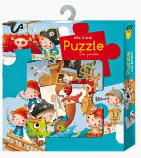 Les mercredis de julie puzzle les pirates ma bo te for Boite a jeux