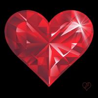 Рубиновое сердце от Танюши