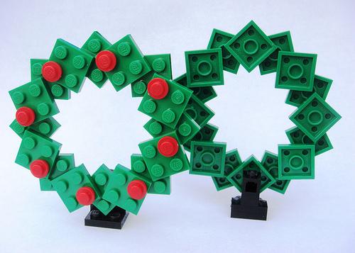 lego christmas decorations instructions