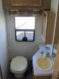 RV bath make over by Dear Miss Mermaid copyright by http://DearMissMermaid.com