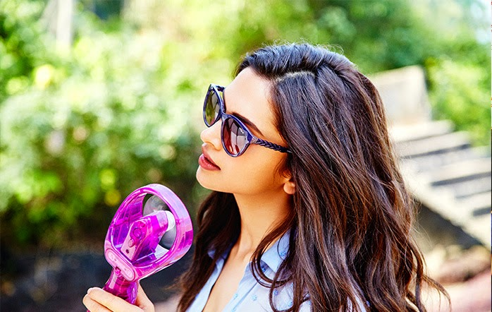 Deepika Padukone Latest Hot Vogue Eyewear Photoshoot 2015