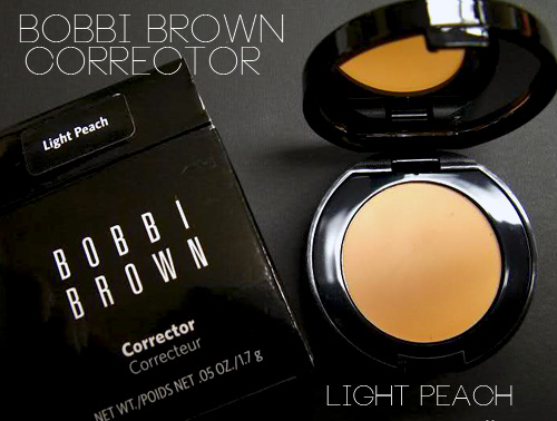 bobbi brown light peach corrector review