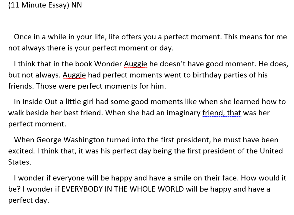 Just Write Baby Onetwothreego  Minute Essay Examples They Really Enjoyed Writing It We Used The Visual Images With The Truism  That Gretchen Bernabei Shared In Her Workshop I Really Enjoyed Sharing  This Gem  High School Reflective Essay Examples also Topics For English Essays  Best Business Plan Writers In South Africa