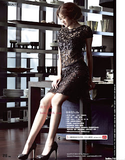 Lai Linen Taiwanese model half-naked @ GQ2010 September cover girl 4