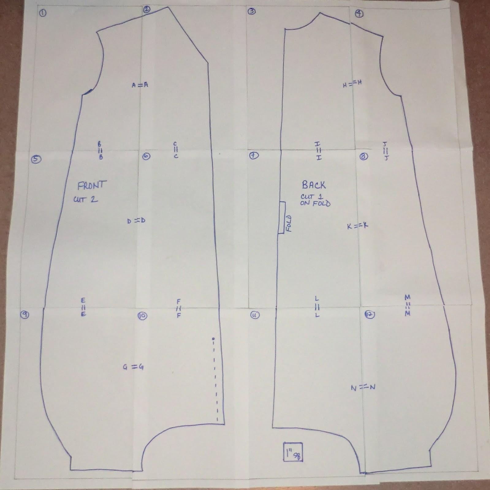 free pattern to make toddler slings