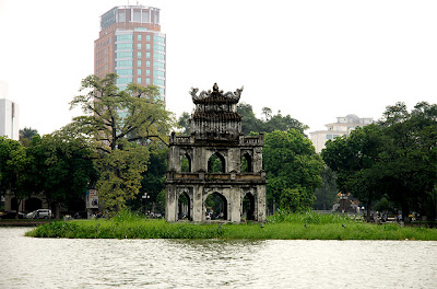 Tempat Wisata Hoan Kiem Lake (Hanoi) - Vietnam