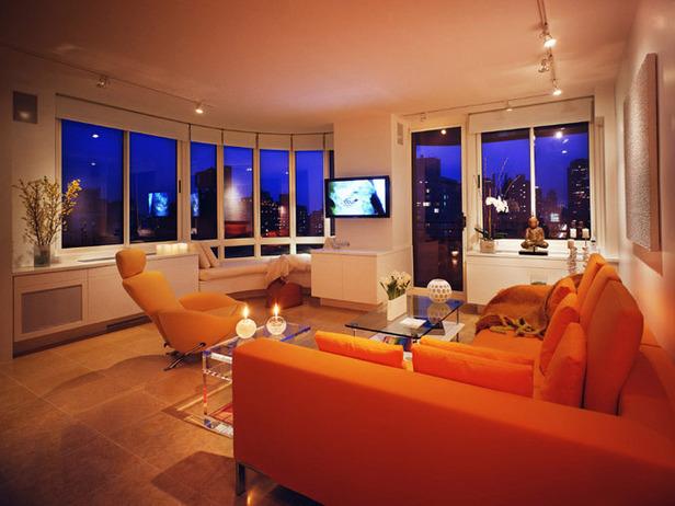 orange living room interior design ideas orange living room