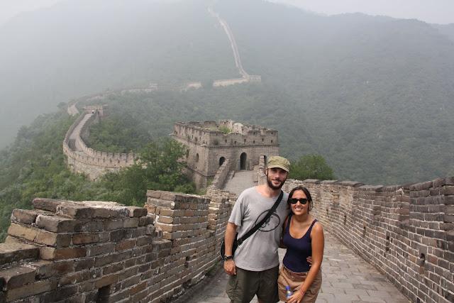 La Gran Muralla entre la niebla.