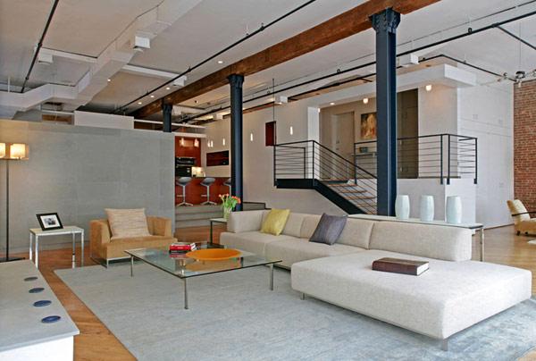 Renovación Contemporánea de un amplio apartamento en Nueva York ...