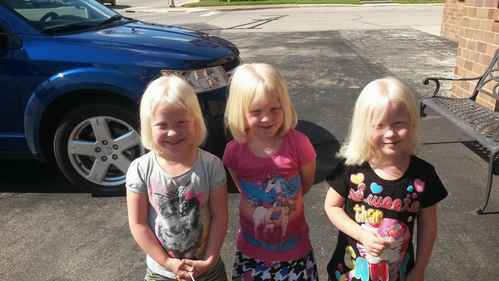 Maysie, Makenna, Jaeli