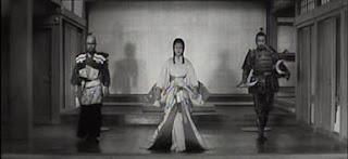 Toshiro Mifune Rokurota Makabe Misa Uehara princesa Yuki Akizuki Fortaleza Escondida