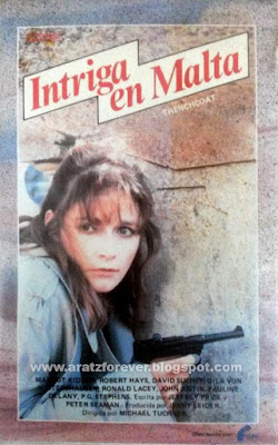 Intriga en Malta, Misterio en Malta, Disney, Trenchcoat, Margot Kidder, Robert Hays
