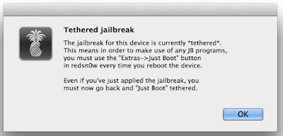 Tethered Jailbreak iOS 6