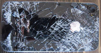 Broken iPhone 4 Because Falls is Still Functioning