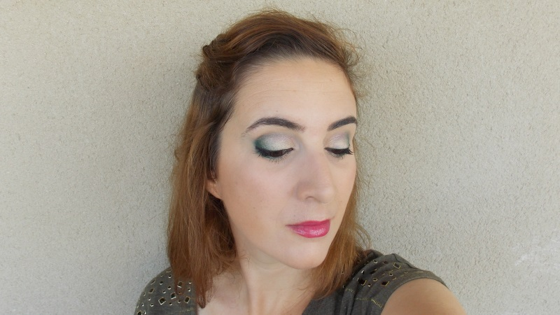 eyeliner, maquillage, soir