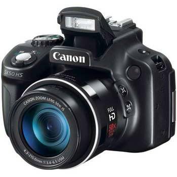 PowerShot SX50 camera recall