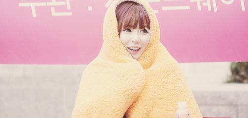 Hyuna 4minute Staying Warm