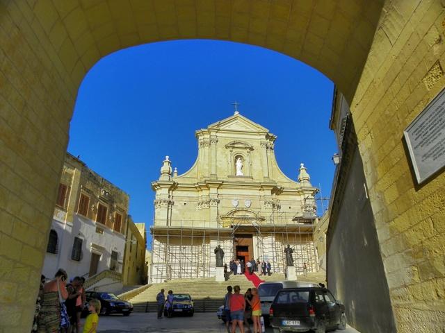 Catedral de la Asunción en Gozo