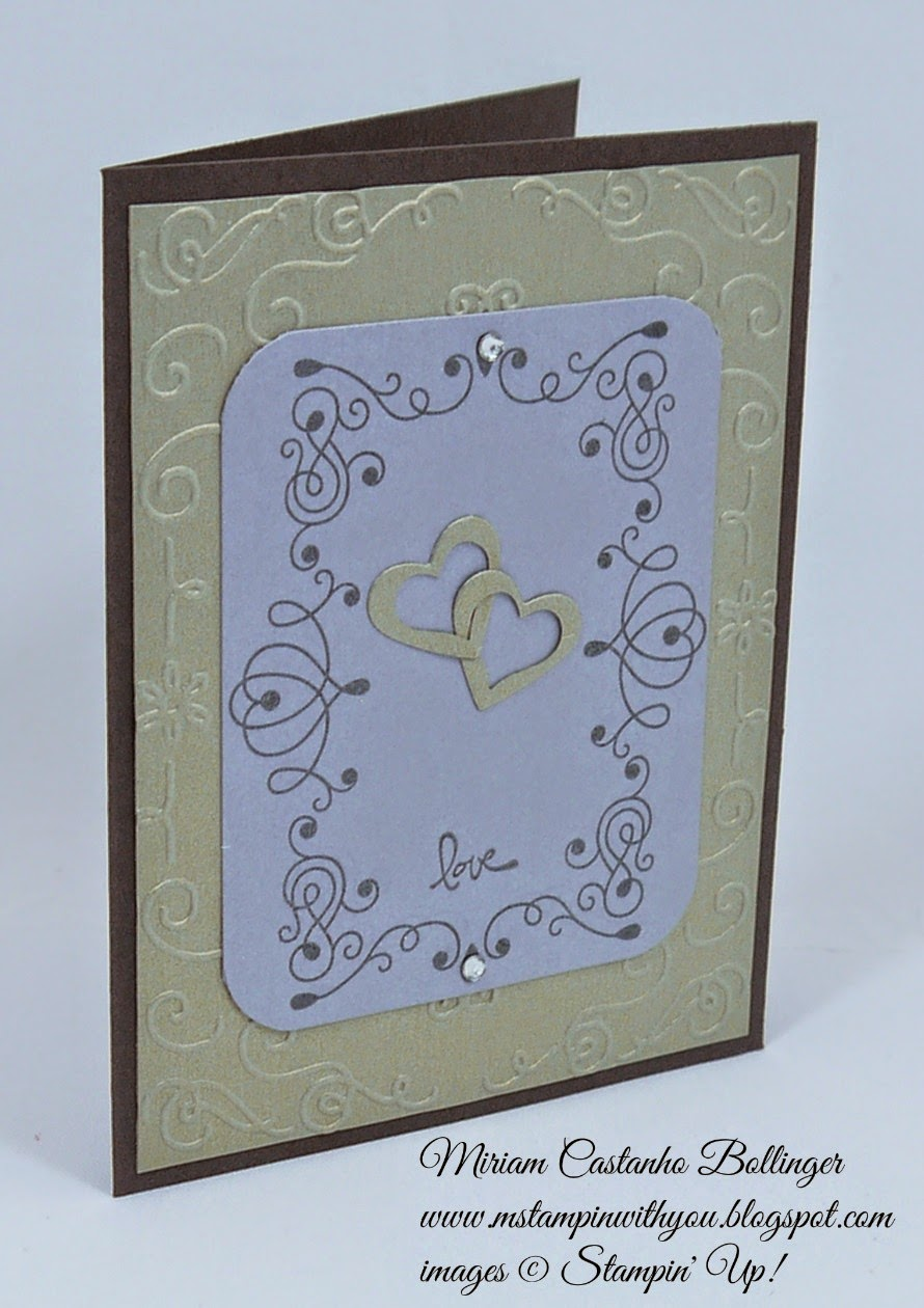 Miriam Castanho Bollinger, mstampinwithyou, stampin up, demonstrator, dsc 109, letterpress winter stamp set, good greetings stamp set, big shot, thinlit circle die, itty bitty accents punch, filigree frame tief, su