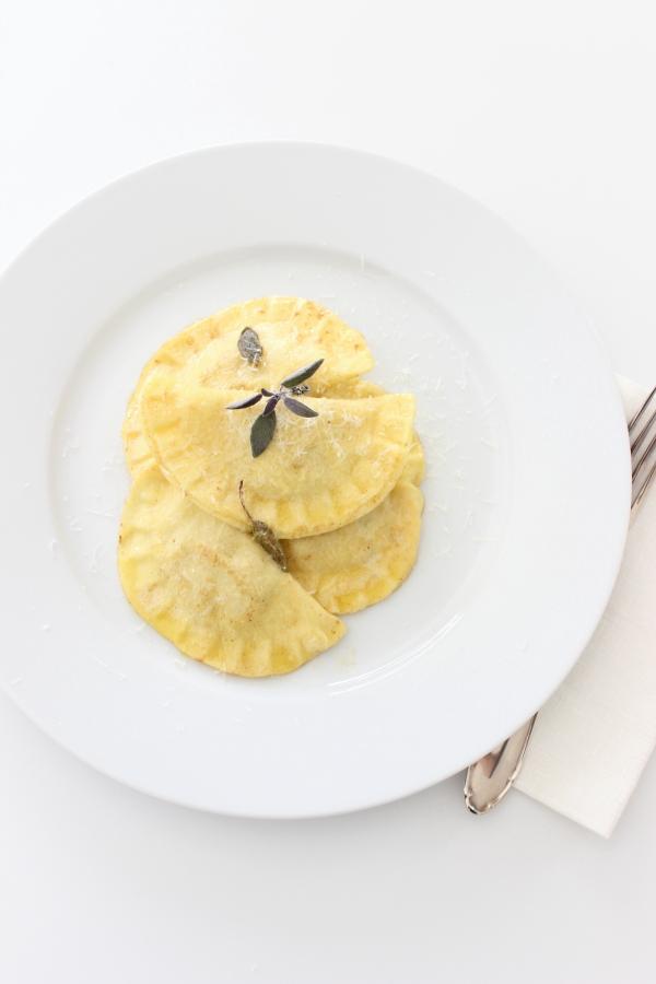 Hokkaido Rezept Herbst Kürbis Ravioli Pastateig Pasta Nudelteig Nudeln Südtiroler Foodblog